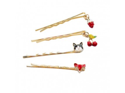 Fashion Style Gold Hair Pin Hair Accessories women hair clip