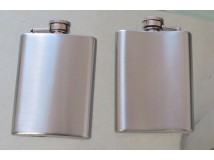 portable Outdoor Sports Mini Stainless Steel Hip Flask Portable Laser Welding Flagon